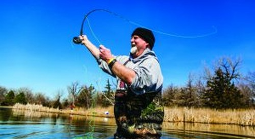 Get ready now for spring trout fishing
