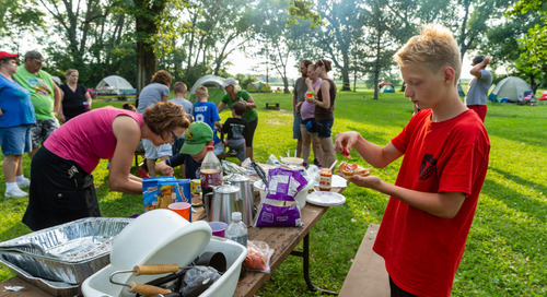 Recipes at the Campground