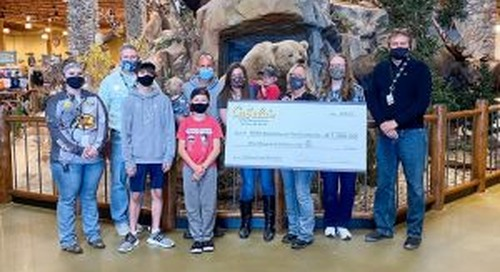 Becoming an Outdoors-Family program receives Bass Pro Shops and Cabela's Outdoor Fund grant