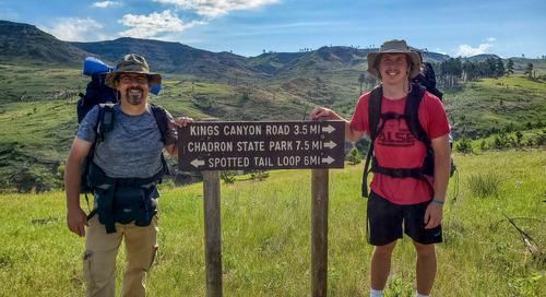Backpacking the Pine Ridge Trail