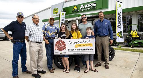 Family from Murray wins Take 'em Hunting grand prize UTV