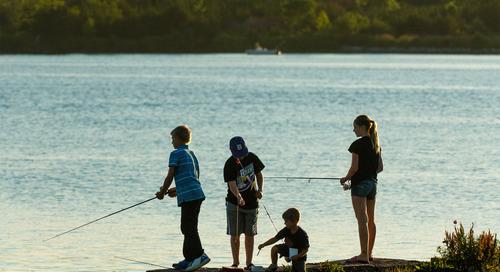 Liberalized fishing regulations declared for Wagon Train Reservoir