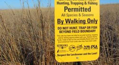 Landowners have until June 23 to enroll in Open Fields and Waters