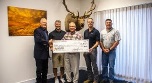 Nebraska Big Game Society supports big game efforts with Game and Parks donation