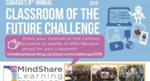 8th Canadian 'Classroom of the Future Challenge' to Launch at Can/AM Reception  Future of Learning Technology Conference (FETC) 2016