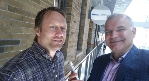 Exclusive Podcast with Joe Wilson, Education Advisor at MaRS Discovery District