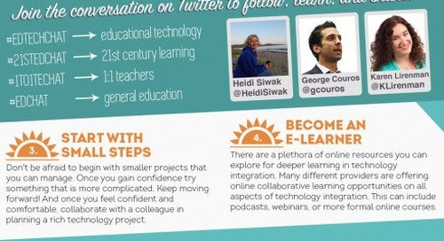 Summer Teacher PD Guide – Top 5 Tips to Infuse Technology in Your Teaching Practice