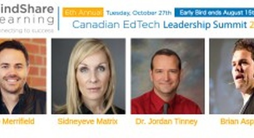 One month to go! 6th Canadian EdTech Summit