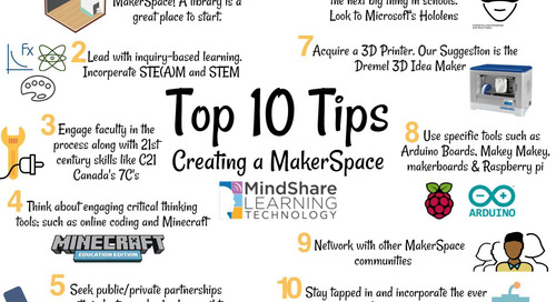 Considerations on the MakerSpace Movement – By Tim Gard, Chief Digital Learning Strategist