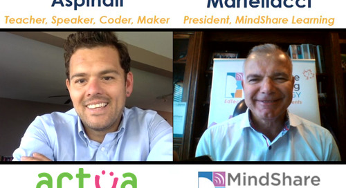 A MindShare Moment Video Podcast with Brian Aspinall