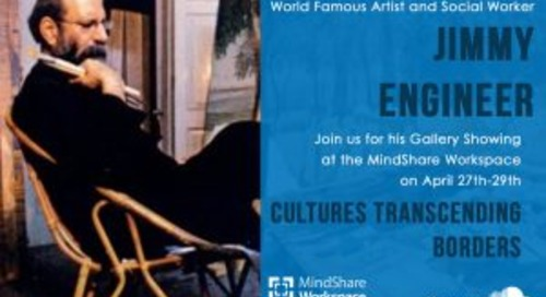 MindShare Podcast with World Famous Artist and Social Worker Jimmy Engineer