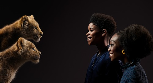 Young Lion King Stars Talk Beyoncé and Being on the Big Screen