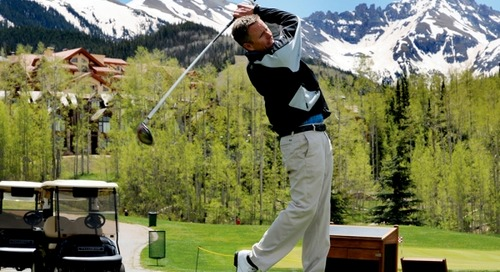 Mountain Golf Courses & Resorts Offer Easy Group Outings | Mountain Meetings