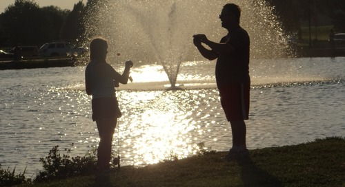 Photos of, Record Crowd at Lake Halleck's Family Fishing Night