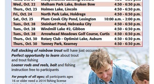 Fall Family Fishing Events