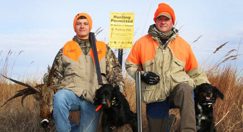 Commissioners Berggren, Burke and Boys Mixed Bag Quest