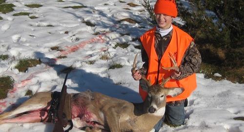 Firearm Deer Season: Enjoying the Experience, Making Memories