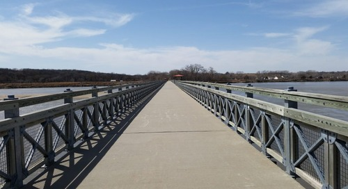 Neat Hike-Bike-Fishing Bridge Featured on WOWT 6 Outdoors