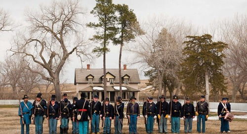Troop Muster at Fort Hartsuff State Historical Park