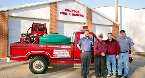 Lewis and Clark Lake SRA Acquires Fire Truck for $1