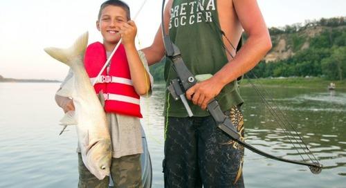 Bowfishing Mentor Program at Ponca SP