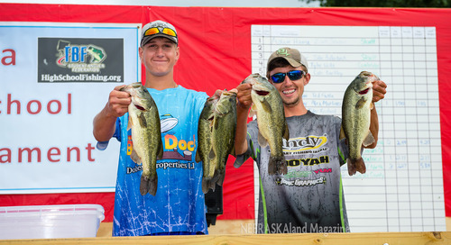 North Platte's Pavelka, Rowland Win State High School Fishing Title