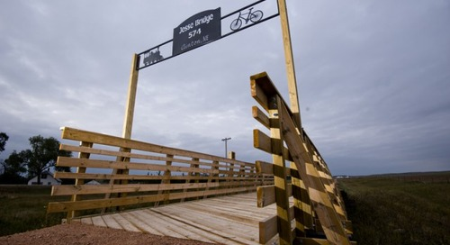 New Cowboy Trail Section Celebrated in Rushville