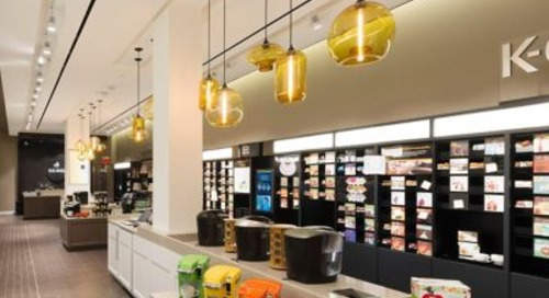 Keurig's Flagship Store Features Hand-Crafted Retail Pendant Lights