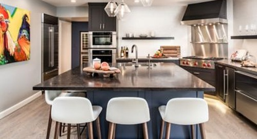 Modern Kitchen Lighting Shines in a Sacramento Home