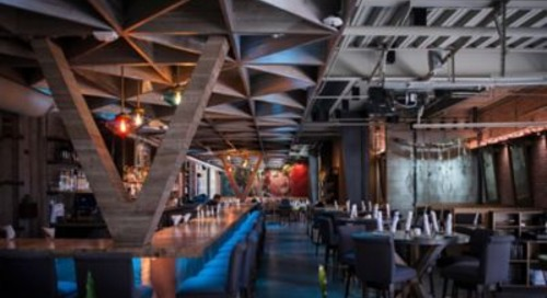 Hawaiian Restaurant Uses Vibrant Pendant Lights in Playful Atmosphere