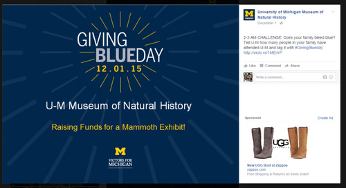 University of Michigan – Setting a Higher Standard for Giving Days