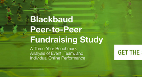 Predictive Modeling for Future Peer to Peer Fundraising Events
