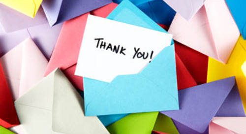 """How to Say """"Thank You"""" to Donors at Year-End"""