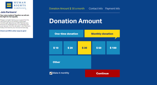 4 Ways to Optimize Your Donation Pages to Grow Monthly Giving