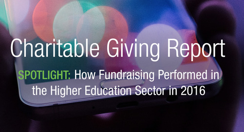 [New Report] 3 Key Findings for University Fundraising