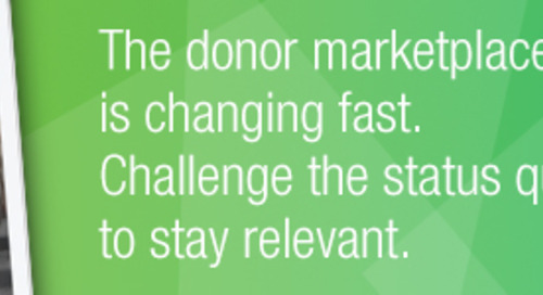 New Study Monitors Dramatically Transforming Donor Behavior