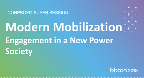 Modern Mobilization: People Powered Engagement