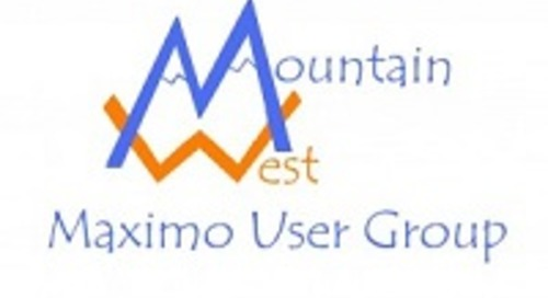 Mountain West Maximo User Group
