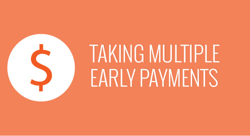 Take Multiple Early Payments