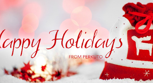 Happy Holidays from Perkuto!