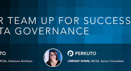 Set Your Team Up for Success With Data Governance (Webinar)