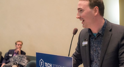 "Statflo CEO Kevin Gervais Presents ""How To Punch Above Your Weight"" at TechTO"