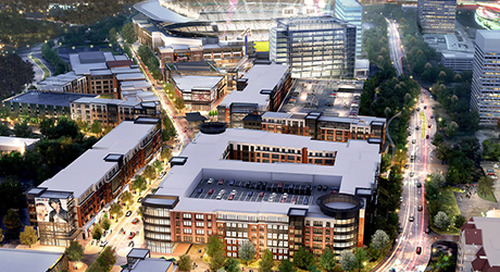 Atlanta Braves plan for new baseball stadium and mixed-use development