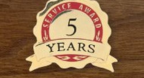The Benefits of Recognizing Years of Service with Anniversary Lapel Pins