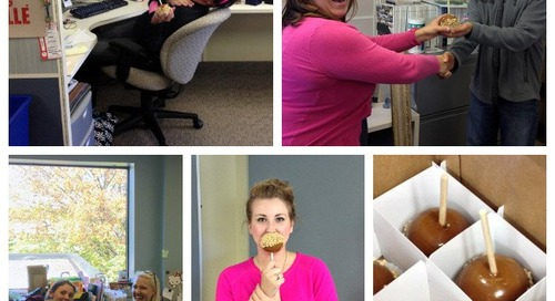 On Day Three of Customer Service Week, We Sure Did Like Them Apples!