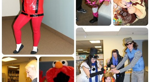 Princesses, Goblins, and Elmo all mean a Successful Halloween at the Ville!
