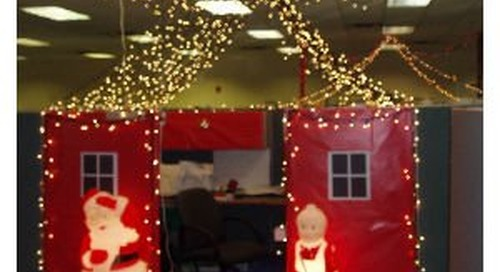 Say goodbye to a Bah Humbug Office this year with our top 5 Holiday Office Party ideas