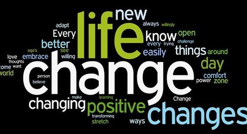 High 5 for Friday: 5 Tips for Celebrating Change!