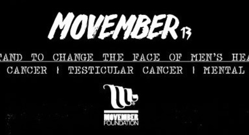 No-Shave November, AKA MOvember.