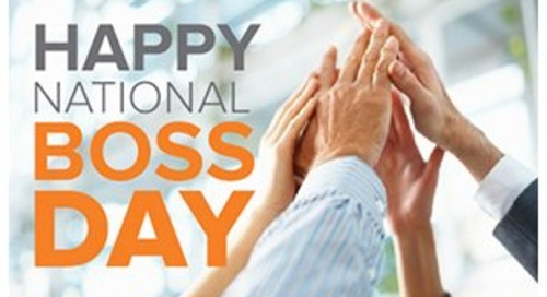 It's Boss's Day. Make it Boss-Some!!